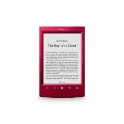 фото Электронная книга SONY PRS-T2. Цвет: красный