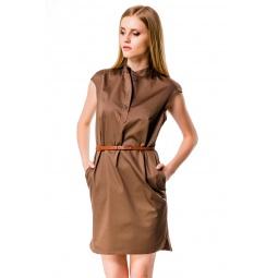 фото Платье Mondigo 5082. Цвет: какао. Размер одежды: 48