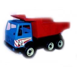 фото Самосвал игрушечный Лена 3х-осный
