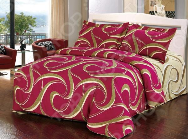 Комплект постельного белья Softline 10332. 1,5-спальный1,5-спальные<br>Комплект постельного белья Softline 10332. 1,5-спальный станет отличной покупкой и подарит комфорт во время сна. Все элементы комплекта сшиты из натурального хлопка, который приятен на ощупь и не вызывает раздражения кожи. Все изображения, имеющиеся на постельном белье, нанесены при помощи устойчивого красителя, который не вызывает аллергических реакций. Мягкая и нежная ткань отличается хорошей воздухопроницаемостью, поддерживая комфортный уровень влажности во время сна. Хлопок экологически чистый материал, который издревле используется для изготовления одежды, постельного белья и многого другого. Согласно древним индийским писаниям, волокна хлопка использовались для шитья подушек богов, а сон на них приносит спокойствие и умиротворение. Яркие цвета и затейливый узор полотна будет радовать вас своей насыщенностью и добавят в повседневную жизнь немного красок.<br>