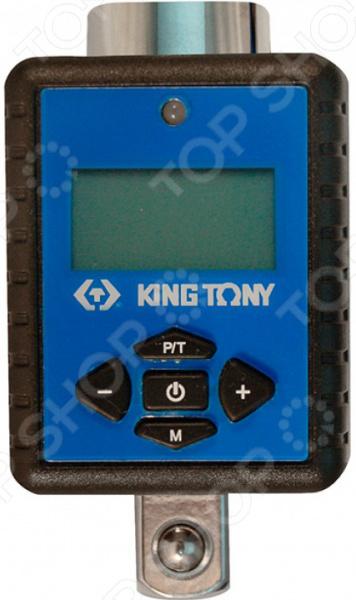 Адаптер динамометрический электронный King Tony KT-34407-1AДинамометрические ключи<br>Адаптер динамометрический электронный King Tony KT-34407-1A электронное устройство, предназначенное для полного контроля над усилиями затяжки крепежей. Он позволяет достичь максимальной точности затяжки относительно техническим параметрам, которые установлены в паспорте каждого изделия. Данная модель оборудована световыми и звуковыми индикаторами, которые срабатывают при достижении предварительно установленного крутящего момента. Отличительные особенности адаптера KT-34207-1A:  50 ячеек памяти;  погрешность измерений не превышает 2 ;  небольшой вес; Инструменты от King Tony позволяют в полной мере наслаждаться своей работой!<br>