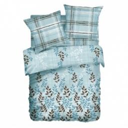 фото Комплект постельного белья Любимый дом «Листья». 1,5-спальный