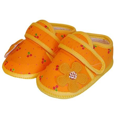 Купить Пинетки HOBBY LINE «Вишенки» ЯВ110828. Цвет: оранжевый
