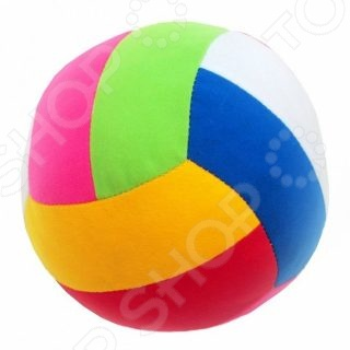 Мягкая игрушка развивающая Мякиши «Мяч. Шалун»