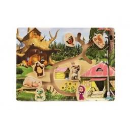 фото Игра развивающая Маша и Медведь «Лабиринт. Маша и ее друзья»
