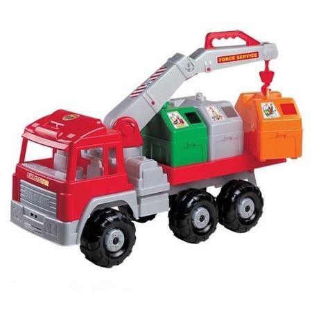 Купить Машинка игрушечная Нордпласт «Мусоровоз Евростар». В ассортименте