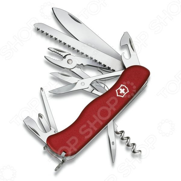 Нож перочинный Victorinox Hercules 0.9043 нож перочинный victorinox swisschamp 1 6795 lb1 красный блистер
