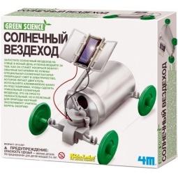 Купить Набор для изобретателей 4M «Солнечный вездеход»