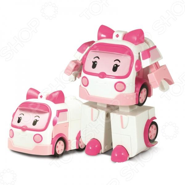 Набор игровой Robocar Poli «Эмбер-трансформер» машины robocar poli машинка скорой помощи эмбер 6 см