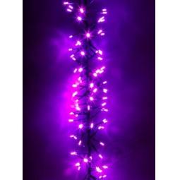 фото Гирлянда электрическая Holiday Classics «Волшебная гроздь». Цвет: розовый