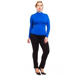 фото Водолазка Mondigo XXL 036. Цвет: синий. Размер одежды: 54