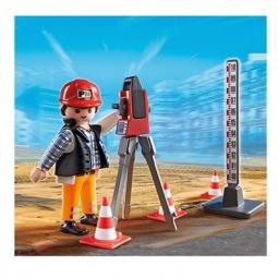 фото Конструктор игровой Playmobil «Стройка: Инспектор»