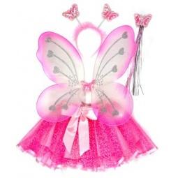 фото Костюм карнавальный Новогодняя сказка «Бабочка»