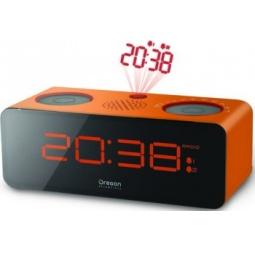 фото Проекционные часы с радиоприемником Oregon Scientific RRA320PN. Цвет: оранжевый, черный