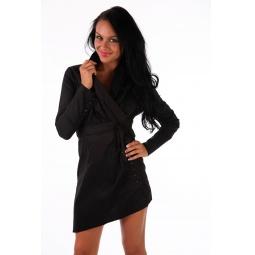 фото Блузка Mondigo 9625. Цвет: черный. Размер одежды: 46