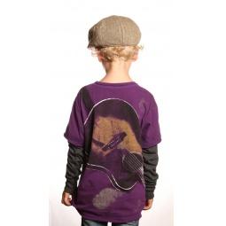 фото Лонгслив детский Warrior Poet Sheriff Guitar Shirt