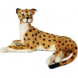 Купить Сувенир из меха «Гепард лежащий»