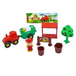 фото Набор игровой для ребенка Shantou Gepai «Ферма с трактором»