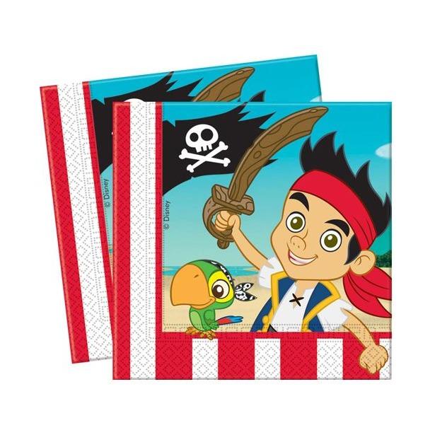 фото Салфетки детские Procos «Джейк и пираты Нетландии»