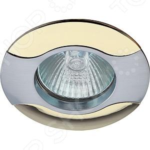 Светильник светодиодный встраиваемый Эра KL18 SN/G эра kl10 sn n