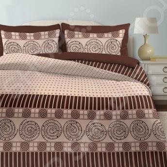 Комплект постельного белья Любимый дом «Мокко» комплект постельного белья любимый дом комплект постельного белья лебеди любимый дом евро 2 наволочки 70х70 см хлопок
