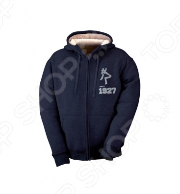 Толстовка KAPRIOL Winter Sweat. Цвет: синий