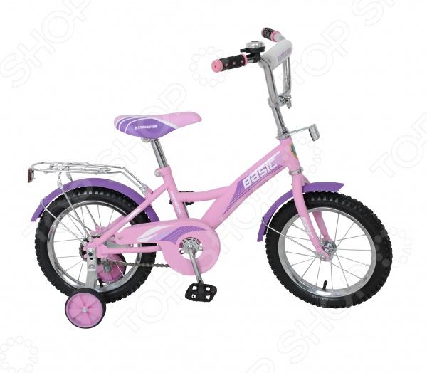 Велосипед детский Navigator Basic KITE 14 велосипед для малыша navigator т54159 spider man