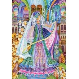 Купить Пазл 1500 элементов Castorland «Королева Весна»