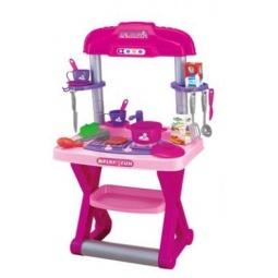 фото Игровой набор для девочки Shantou Gepai «Кухня с барбекю» 661-61