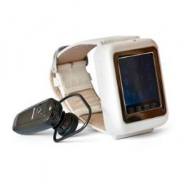 фото Часы-мобильный телефон Watchtech V4 белые