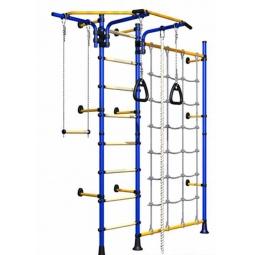 фото Детский спортивный комплекс Карусель Комета Next 3. Цвет: синий
