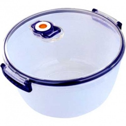 Купить Контейнер для хранения продуктов с клапаном Bekker круглый