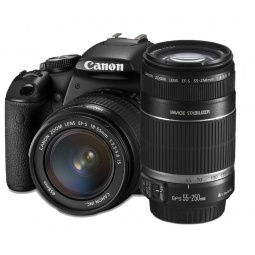 Купить Фотокамера цифровая Canon EOS 600D Kit EF-S 18-55mm IS II / 55-250mm IS