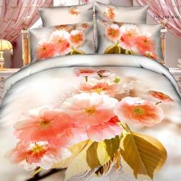 фото Комплект постельного белья с эффектом 3D Buenas Noches Vostorg. Евро
