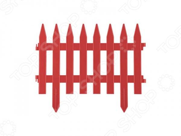Забор декоративный Grinda «Классика» 422201 Забор декоративный Grinda 422201-T /Терракотовый