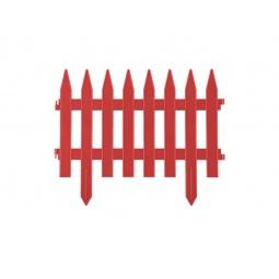 фото Забор декоративный Grinda «Классика» 422201. Цвет: терракот