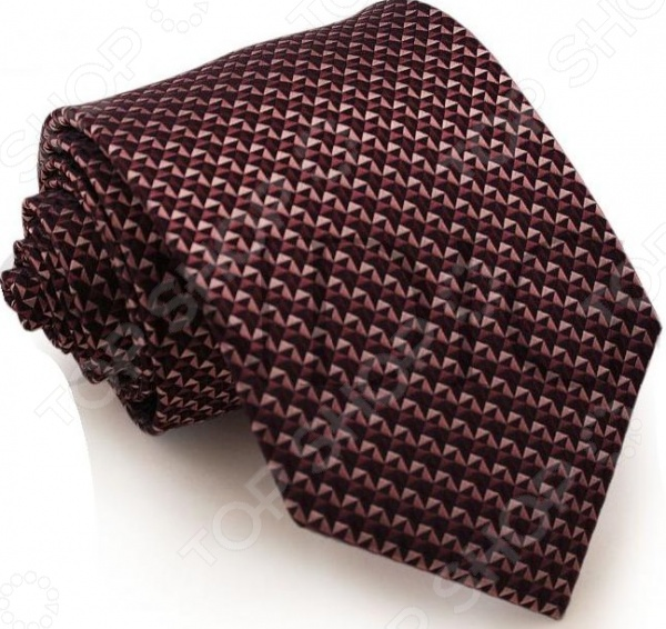 Галстук Mondigo 44149Галстуки. Бабочки. Воротнички<br>Галстук Mondigo 44149 завершающий штрих в образе солидного мужчины. Сегодня классический стиль в одежде приветствуется не только на работе в офисе. Многие люди предпочитают в качестве повседневной одежды костюм или рубашку с галстуком. Мужчина, выбирающий такой стиль в одежде, всегда выделяется среди окружающих и производит положительное первое впечатление. Кроме того, один и тот же галстук можно носить по-разному каждый день. Достаточно выбрать один из многочисленных типов узлов: аскот, балтус, кент, пратт и многие другие. Кстати, в интернете есть сайты, которые случайным образом предлагают вариант узла удобно, когда трудно определиться с выбором . Галстук изготовлен из шелка. Ткань довольно прочная, приятная на ощупь и отличается роскошным блеском. Края обработаны лазерным методом. С обратной стороны галстук прострочен шелковой ниткой, что позволяет регулировать длину изделия.<br>