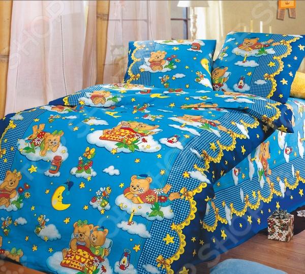 Ясельный комплект постельного белья Бамбино «Сладкий сон» Бамбино - артикул: 714235