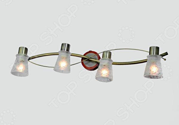 Светильник настенный Rivoli Satiro-wave 4xE14-40WСветильники настенные<br>Светильник настенный Rivoli Satiro-wave 4xE14-40W - оригинальная и красивая модель светильника, которая добавит уюта и комфорта в ваш интерьер. Такой светильник может быть как основным, так и дополнительным источником света. Его мягкий свет великолепно подойдет для спальни или гостиной, создавая расслабленную и спокойную атмосферу. Модель выполнена из высококачественных и надежных материалов, что позволяет значительно продлить срок эксплуатации изделия.<br>