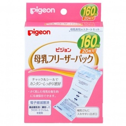 фото Пакеты для заморозки грудного молока Pigeon. Объем: 160 мл