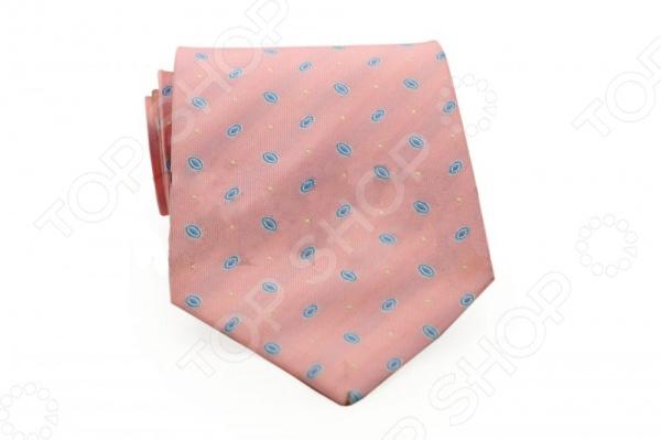 Галстук Mondigo 33075Галстуки. Бабочки. Воротнички<br>Галстук Mondigo 33075 это стильный аксессуар, необходимый для создания элегантного вида. Изготовлен из высококачественной микрофибры. Галстук украшен изящными овалами голубого цвета. Отлично дополнит наряд в свободном стиле. Подойдет для торжественных и официальных мероприятий. С этим галстуком вы сможете привлечь взгляды, и обратить на себя должное внимание.<br>