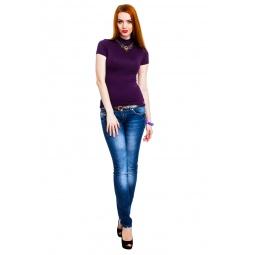 фото Водолазка Mondigo 037. Цвет: темно-фиолетовый. Размер одежды: 42