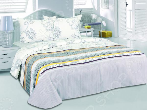 Комплект постельного белья Tete-a-Tete «Чара». ЕвроЕвро<br>Комплект постельного белья Tete-a-Tete Чара это незаменимый элемент вашей спальни. Человек треть своей жизни проводит в постели, и от ощущений, которые вы испытываете при прикосновении к простыням или наволочкам, многое зависит. Чтобы сон всегда был комфортным, а пробуждение приятным, мы предлагаем вам этот комплект постельного белья. Приятный цвет и высокое качество комплекта гарантирует, что атмосфера вашей спальни наполнится теплотой и уютом, а вы испытаете множество сладких мгновений спокойного сна.  Комплект выполнен из ткани, состоящей на 100 из хлопка, и обладает следующими преимуществами:  Мягкий и приятный на ощупь материал отличается высокой гигроскопичностью и хорошо пропускает воздух.  Рисунок нанесен на ткань с применением современных технологий 3D печати, что делает его не только выразительным, но и долговечным. Благодаря специальному активному красителю ткань долго не утратит своей яркости, а рисунок выразительности линий.  Натуральный материал гипоаллергенен и безопасен для здоровья.  Особое переплетение нитей ткани повышает устойчивость к легким механическим повреждениям.  Тип ткани сатин. Имеет гладкую и шелковистую лицевую поверхность с легким блеском. Практически не мнется и не деформируется. Перед первым применением комплект постельного белья рекомендуется постирать. Перед этим выверните наизнанку наволочки и пододеяльник. Для сохранения цвета не используйте порошки, которые содержат отбеливатель. Рекомендуемая температура стирки 30 С и ниже без использования кондиционера или смягчителя воды. Обновите свою кровать таким комплектом постельного белья, и интерьер вашей комнаты заиграет новыми красками.<br>