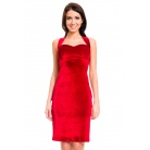 Фото Платье Mondigo 7024. Цвет: бордовый. Размер одежды: 48
