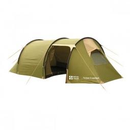 фото Палатка NOVA TOUR «Тоннель 3 комфорт». Цвет: бежевый, хаки