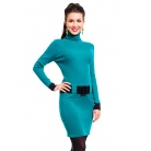 Фото Платье Mondigo 10002. Цвет: изумрудный. Размер одежды: 44