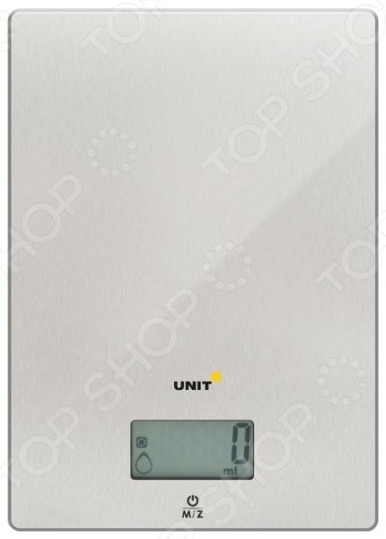 Весы кухонные Unit UBS-2152Кухонные весы<br>Весы кухонные Unit UBS-2152 электронные весы для взвешивания ингредиентов, что будут использованы в приготовлении блюд. Оснащены большим дисплеем с крупным шрифтом, который поможет удобнее считывать информацию. Достаточно просты в использовании, с ними справится даже ребенок. Погрешность точного результата взвешивания массы продуктов составляет 1 г.<br>