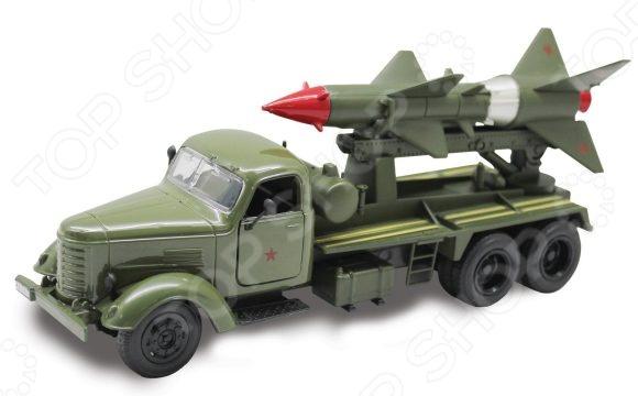 Модель передвижной установки Пламенный Мотор «Ракетный комплекс»