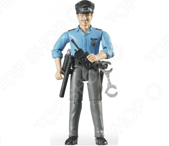 Фигурка игровая с аксессуарами Bruder «Полицейский»