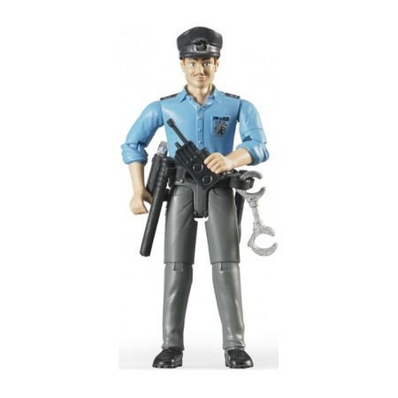 Купить Фигурка игровая с аксессуарами Bruder «Полицейский»